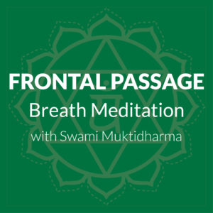Frontal Passage Breath Meditation