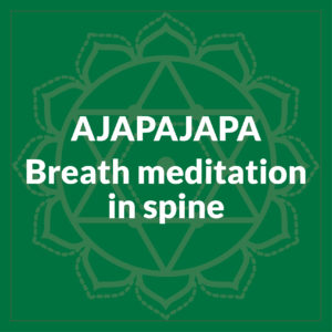 Ajapajapa Breath Meditation In Spine