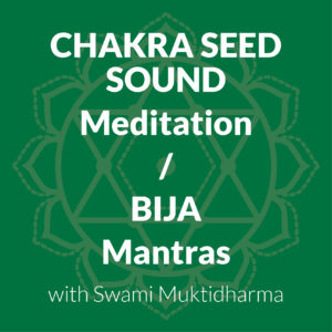Meditation On Chakra Seed Sounds/Bija Mantras