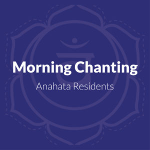 Morning Chanting Practice