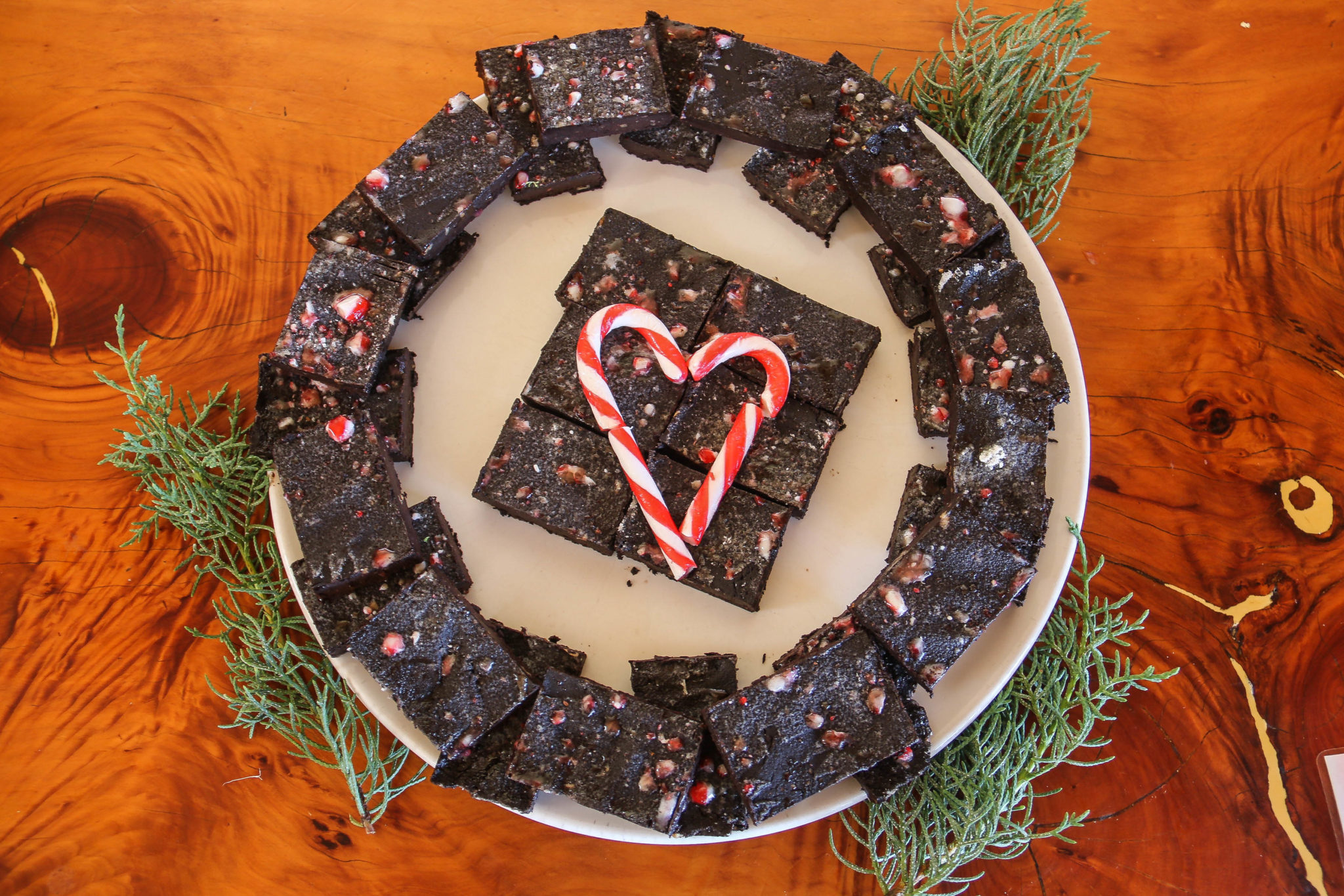Five-Minute Chocolate Christmas Fudge