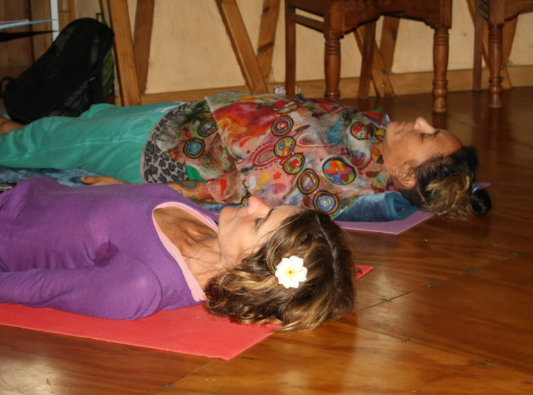 Hatha Yoga Class & Yoga Nidra Relaxation Class At The Sandcastle