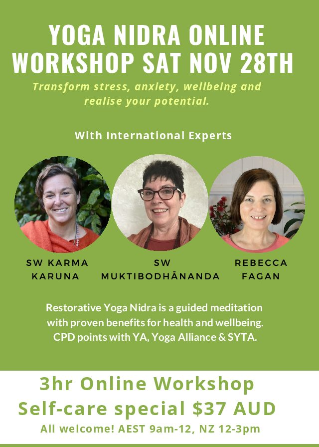 Yoga Nidra Relaxation & Meditation Workshop