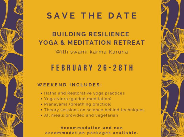 Love & Core Martinborough: Building Resilience Yoga & Meditation Retreat