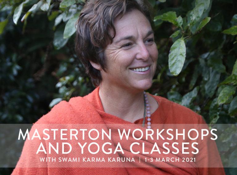 Masterton Workshops & Yoga Classes