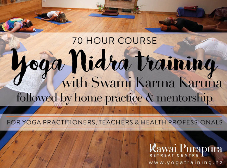 Kawai Purapura Yoga Nidra Training With Swami Karma Karuna