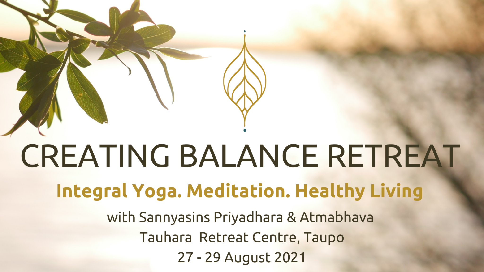 Tauhara Retreat Event Cover
